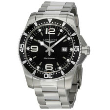 Longines HydroConquest Black Dial Mens Watch L38404566