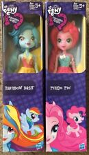 "My Little Pony Rainbow Dash & Pinkie Pie Equestria Girls 9"" Dolls Hasbro NIB"