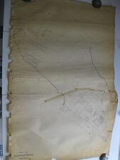 ROMA Mappa Catastale 956 TUSCOLANA SUBAGUSTA CINECITTA FULVIO NOBILIORE 1943 c.