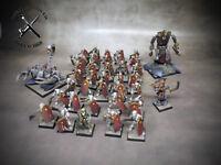 Pack reyes funerarios khemri Warhammer age of sigmar propainted