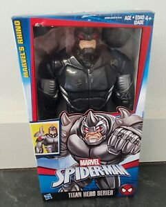 "Marvel Spider-Man Titan Hero Series Marvel's Rhino 12"" Action Figure - NIB"