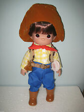 "Precious Moments Disney Toy Story Woody 12"" Doll #4801"