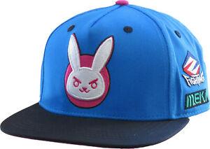 Overwatch Ultimate D.VA Bunny Snapback Cap