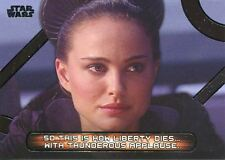 Star Wars Galactic Files Reborn Famous Quotes Chase Card MQ-6 So this is how lib
