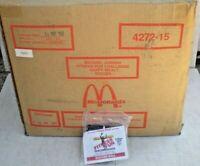 HUGE Lot of 250 MICHAEL JORDAN McDonalds SOCCER BALL Happy Meal Toys - BRAND NEW