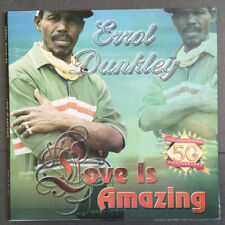 ERROL DUNKLEY - LOVE IS AMAZING / ORIGINAL STUDIO ONE RECORDS 2003 / LP VG+/VG+