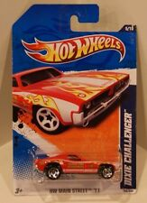 2011 Hot Wheels HW Main Street '11 Dodge Dixie Challenger Fire Department 1970
