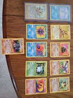 Pokemon 1999 WOTC Base Set - Jungle - Fossil  Lot Of 20 *READ DESCRIPTION*