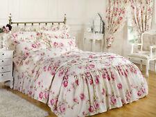 de luxe ajusté Tour de lit drap Elizabeth naturelle King Size Ajusté
