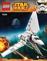 INSTRUCTIONS & STICKERS ONLY Lego Star Wars Imperial Shuttle Tydirium 75094