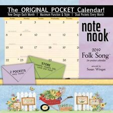 2019 Folk Song Pocket Wall Calendar, More Folk Art by Wells Street by LANG