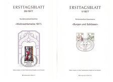 BRD Ersttagsblätter 1-28/1977 kompletter Jahrgang in Top Qualität