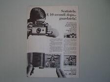 advertising Pubblicità 1966 POLAROID