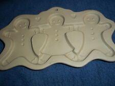 Brown Bag Cookie Mold Gingerbread Men Cut Apart 1995