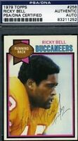 Ricky Bell D.84 Signed Psa/dna 1979 Topps Autograph Authentic