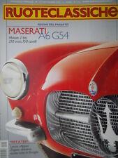 Ruoteclassiche n°153 2001 Maserati A6 G54 - Lambretta la Trasgressiva [Sc.62]