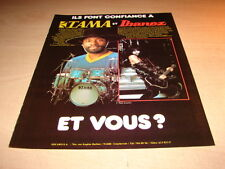 KISS - PAUL STANLEY !!!!!!!!!!!!!!!!FRENCH PRESS ADVERT