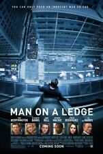 Man On A Ledge movie poster - Sam Worhtington poster - 11 x 17 inches
