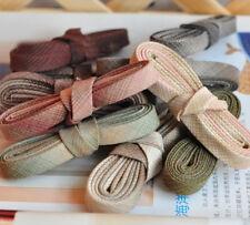 10 dye-yarn Tela doblado de cinta de biés Trim Cuadros Cuadros