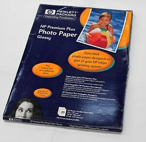 HP Photo Paper Premuim Plus High Gloss A4 20x sheets HP C6832A Extra Thick