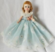 """Vintage Madame Alexander 1958 CISSETTE 10"""" Hard Plastic Doll in Original GOWN"""