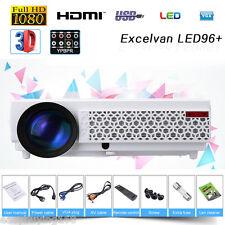 5000 Lúmenes 3D LED/LCD Proyector 1280x800P Video Home Teatro USB HDMI 2000:1 EU