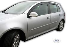 DVW31150 VW Golf V Mk5 5 wind deflectors visors 2004-2008 4pc TINTED HEKO