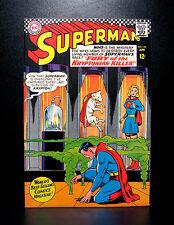 COMICS: DC: Superman #195 (1967), Supergirl and Krypto app - RARE