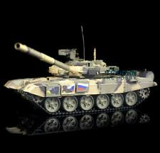 US Stock 2.4Ghz RTR RC Tank 3938 1/16 Scale Henglong 6.0 Plastic Ver Russia T90