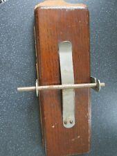 Vintage Everitt`s Wooden Flower/Tie Press 9 1/2 x 3 1/2 inches