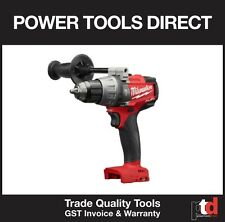 NEW MILWAUKEE 18V HAMMER DRILL DRIVER CORDLESS M18FPD-0 GEN II FUEL BRUSHLESS