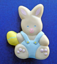 Hallmark PIN Easter Vintage BUNNY RABBIT Baby EGG Holiday Brooch