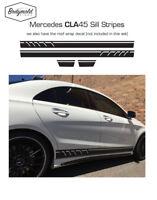 Mercedes AMG CLA 45 style Custom side stripes