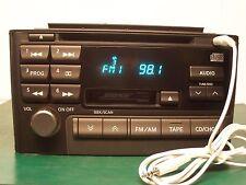 2000-01 BOSE NISSAN MAXIMA RADIO CD PN-2383D 28188-2Y911 CNB98 W AUX INPUT