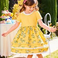 Matilda Jane Stay Golden Dress Size 6 8 10 New In Bag Easter Girls Yellow