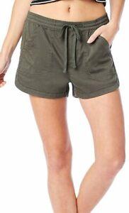 Unionbay Juniors Maribeth Solid Drawstring Pull On Shorts