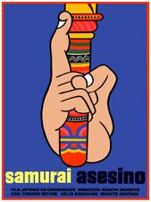 Movie Poster for film Samurai asesino.Assasin.Asia.Japanese Room wall art decor