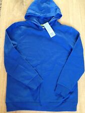 F&F Unisex Hooded Blue Sweatshirt Bnwt Age 13 - 14 Years