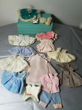11 VINTAGE COSMOPOLITAN GINGER DOLL DRESSES TAGGED OUTFIT FITS VOGUE GINNY
