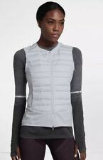 New Nike Women's Running Athletic Vest Nike AeroLoft 856636 043 Sz XL Msrp $180