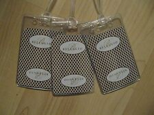 Bellagio Luggage Tags - Las Vegas Hotel Casino Playing Card Name Tags Set (3)