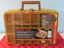 New listing Plano 1126 Magnum double sided fishing tackle box, new-never used, made in Usa