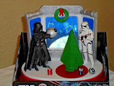 Star Wars Animated Musical Christmas Tabletop Display - Light/Sound/Motion