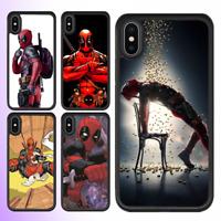 iPhone X 8 7 6s 6 Plus SE 5c 5s Bumper Case Marvel Deadpool 2 Cover For Apple