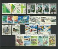 MNZ64) New Zealand 1987 Stamp Sets CTO/Used