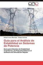 Guia Para El Analisis de Estabilidad En Sistemas de Potencia (Paperback or Softb