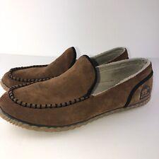 Sorel Men's Brown Dude Moc 13 Slippets
