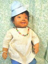 "den-181 Dianne Dengel doll; ""Moccasin Boy"" crafted by Dianne; 24"""