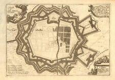 'Landau'. Fortifed town/city plan. Rhineland-Palatinate. DE FER 1705 old map
