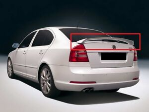 SKODA OCTAVIA 2 MK2 RS LOOK REAR BOOT SPOILER VRS NEW
